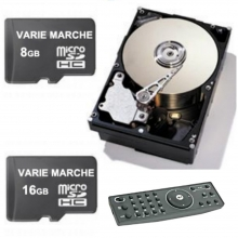 HARD DISK, SD CARD E ACCESSORI PER VTR DA TVCC