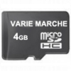 MICRO MEMORIA SD CARD DA 4 GB